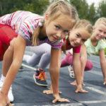 Дети и бег
