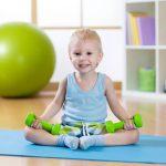 Детский фитнес. Часть 2.